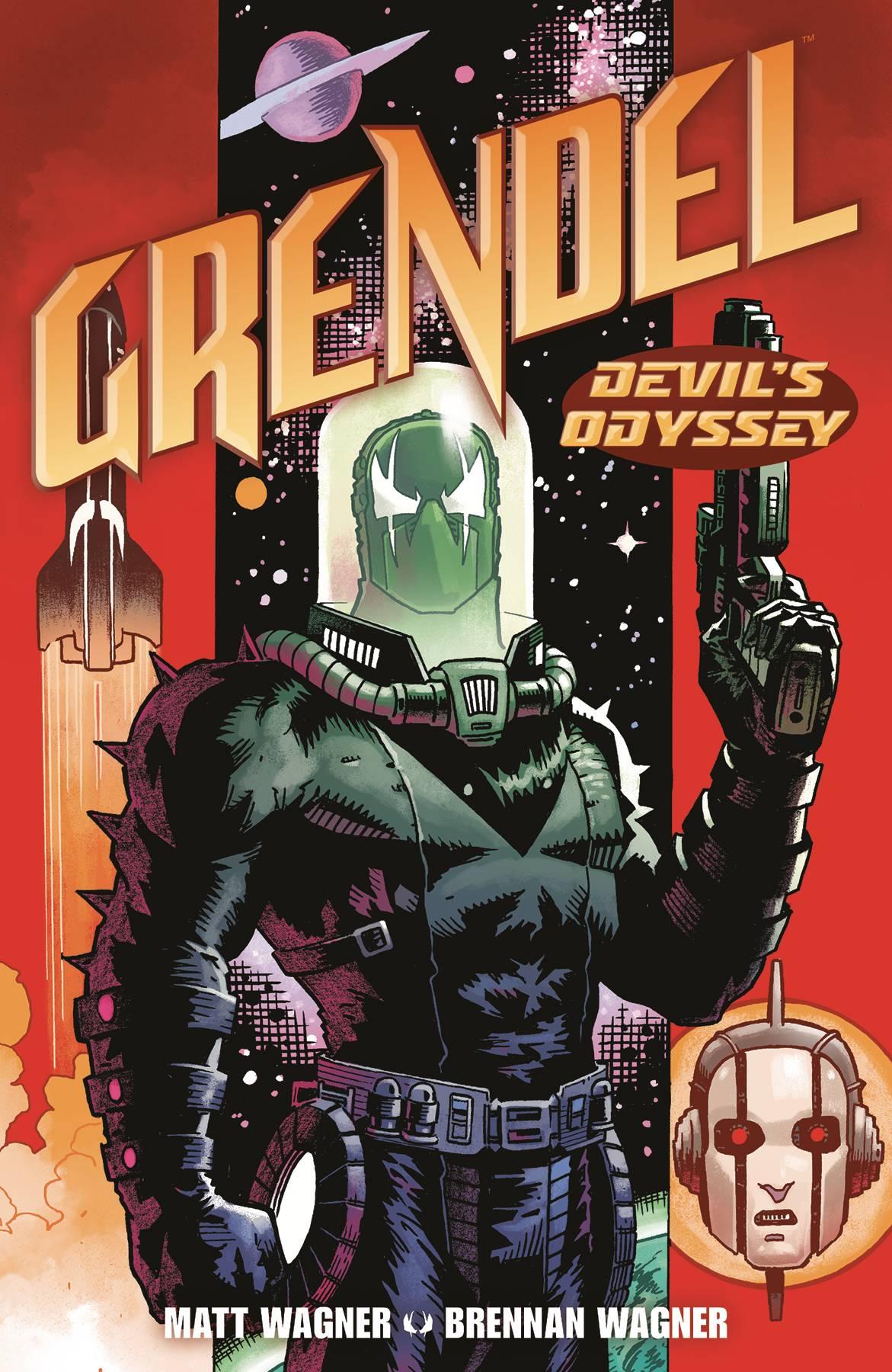 Dark Horse Comics Matt Wagner Grendel Sept Pièces PVC Set
