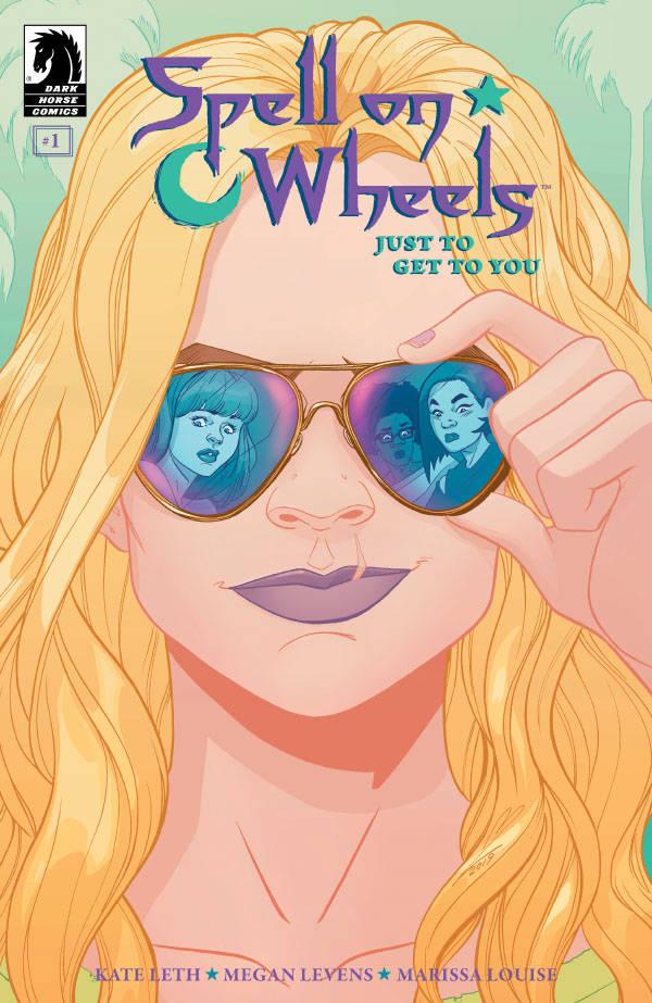 SPELL ON WHEELS #3 STANDARD COVER
