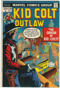 Kid Colt Outlaw #170 Very Fine