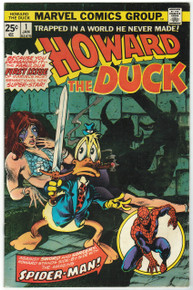 Howard the Duck #1 VG Front Cover
