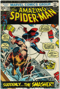Amazing Spider Man #116 FN Front Cover