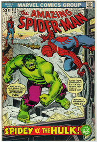 Amazing Spider Man #119 VF Front Cover