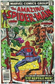Amazing Spider Man #166 VF Front Cover