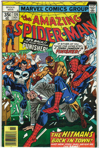 Amazing Spider Man #174 FN Front Cover