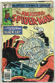 Amazing Spider Man #205 GD Front Cover