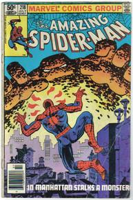 Amazing Spider Man #218 GD
