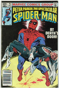 Spectacular Spider Man #76 FN Front Cover