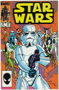 Star Wars #97 FN Front Cover