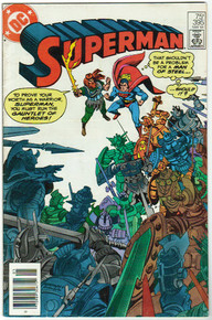 Superman #395 FN Front Cover
