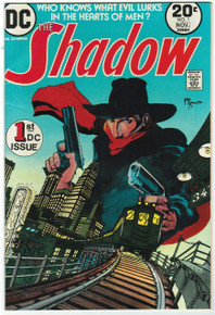 The Shadow #1 VF/NM Front Cover
