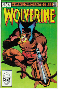Wolverine Vol. 1 #4 VF/NM Front Cover