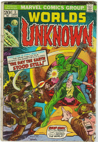 Worlds Unknown #3 GD Front Cover