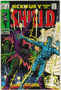 Nick Fury, Agent of S.H.I.E.L.D. #9 FN Front Cover