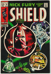 Nick Fury, Agent of S.H.I.E.L.D. #10 FN Front Cover