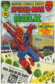 Amazing Spider Man and the Incredible Hulk Denver Post Supplement FN Front Cover