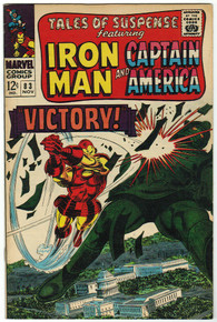 Tales of Suspense #83 VF Front Cover