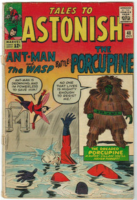 Tales to Astonish #48 GD Front Cover