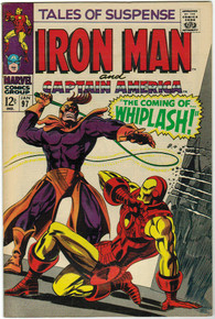 Tales of Suspense #97 VF/NM Front Cover