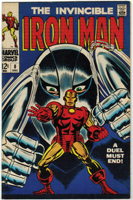 Iron Man #8 VF/NM Front Cover