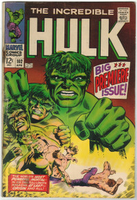 Incredible Hulk #102 VG Front Cover