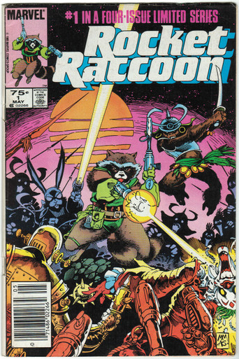 Rocket Raccoon #1 FN Front Cover