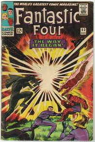 Fantastic Four #53 GD Front Cover