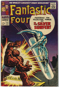 Fantastic Four #55 VG Front Cover