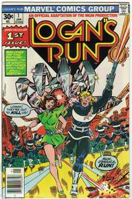 Logans Run #1 FN Front Cover