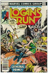 Logans Run #7 VF/NM Front Cover