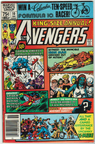 Avengers Annual #10 VF Front Cover
