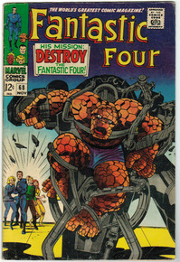 Fantastic Four #68 VG Front Cover