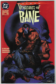Batman Vengeance of Bane #1 2nd Print VF/NM Front Cover
