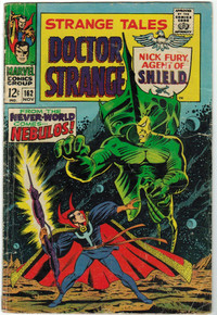 Strange Tales #162 GD Front Cover