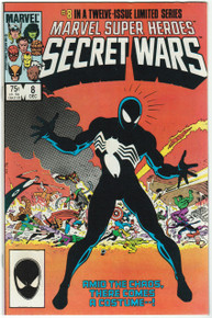 Marvel Super Heroes Secret Wars #8 VF/NM Front Cover