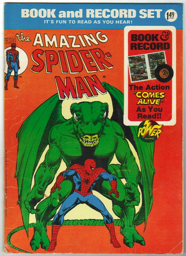 Amazing Spider Man PR24 Book and Record Set VG Front Cover