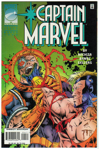 Captain Marvel Vol. 3 #4 Vf/NM Front Cover