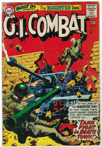 G.I. Combat #113 GD Front Cover