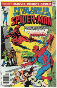 Spectacular Spider Man #1 VF Front Cover