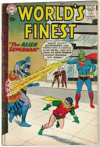 World's Finest #105 FN Front Cover