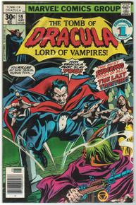 Tomb of Dracula #59 Very Fine