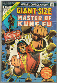 Giant Size Master of Kung Fu #1 Fine