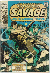 Captain Savage #14 GD Front Cover