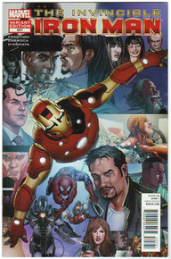 Invincible Iron Man #527 NM Front Cover