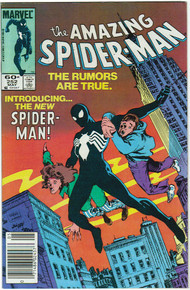 Amazing Spider Man #252 VF/NM Front Cover