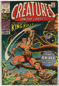 Creatures on the Loose #10 VG Front Cover