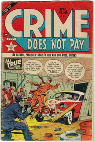Crime Does Not Pay #109 GD Front Cover