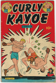 Curly Kayoe #1 FN Front Cover