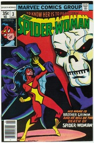 Spider Woman #3 VF/NM Front Cover