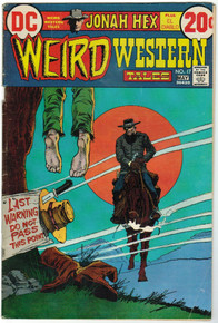 Weird Western Tales #17 VG Front Cover