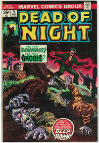 Dead of Night #5 FN Front Cover